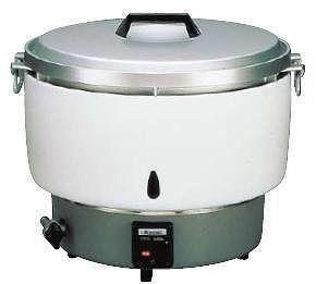 炊飯器 送料無料 リンナイガス炊飯器 RR-50S1 20合~50合 LPガス(6-0622-1101)