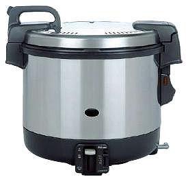 炊飯器 送料無料 プラスチック製 パロマ ガス炊飯器 PR-4200S (電子ジャー付) 6.7合~22合 LPガス(7-0654-0701)