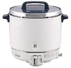 炊飯器 送料無料 大型バーナーで抜群の炊上げ性能! パロマ ガス炊飯器 PR-403SF 6.7合~22.2合 LPガス(7-0654-0301)