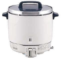 炊飯器 送料無料 大型バーナーで抜群の炊上げ性能! パロマ ガス炊飯器 PR-403SF 6.7合~22.2合 12・13A(6-0621-0402)
