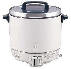炊飯器 送料無料 大型バーナーで抜群の炊上げ性能! パロマ ガス炊飯器 PR-403S 6.7合~22.2合 LPガス(7-0654-0401)