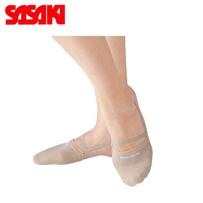 メール便選択可能 ササキ 新着セール SASAKI デミシューズ 期間限定特価品 ハーフシューズ #153 新体操 シューズ