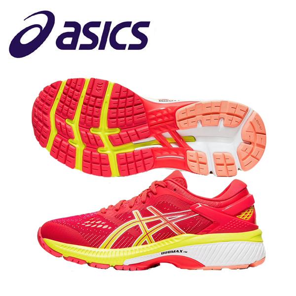 asics アシックス レディース ランニングシューズ レーシングシューズ ゲルカヤノ26 長距離 通気性 軽量 汎用性 快適性 安定性 反発性 サポート性 1012A609