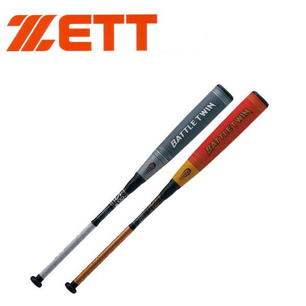 ZETT ゼット 野球 バトルツイン 一般 軟式FRPバット 新軟式球M号対応 トップバランス 飛距離アップ BCT308