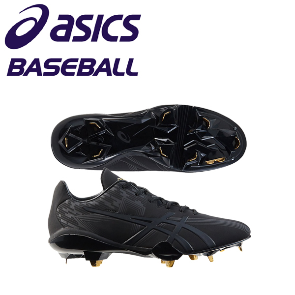 アシックス ゴールドステージ 野球 スパイク 金具スパイク スピードアクセル SM-P 1121A036