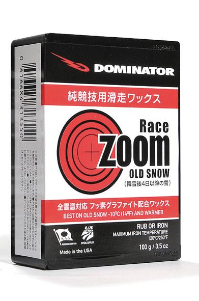 DOMINATOR(ドミネーター)ZOOM RACING SERIESRACE ZOOM OLD SNOW(レースズームオールドスノー)100gスノーボード・スキー兼用
