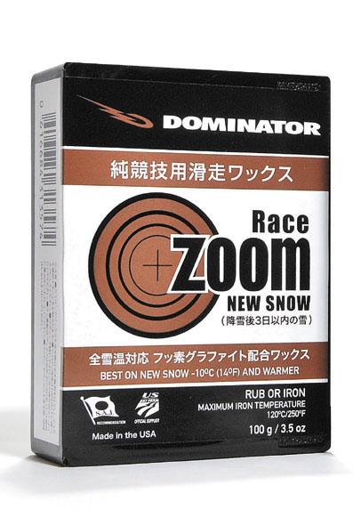 DOMINATOR(ドミネーター)ZOOM RACING SERIESRACE ZOOM NEW SNOW(レースズームニュースノー)100gスノーボード・スキー兼用