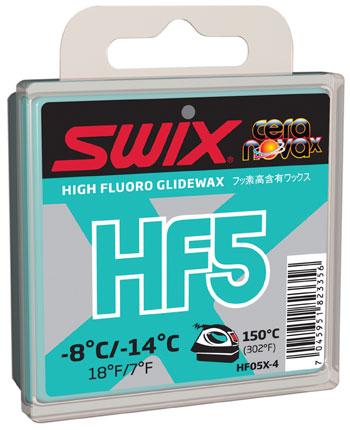SWIX(スウィックス)CERA NOVA Category 3-HFXワックスHF05X-4 ターコイズ