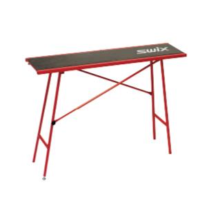 SWIX スウィックス ワクシングテーブル エコノミー T0075W 120cm×35cm 高さ調節可能 75cm、83cm、86cm 重量11kg スノーボード スキー ウィンタースポーツ メンテナンス 冬 アルペン 雪山