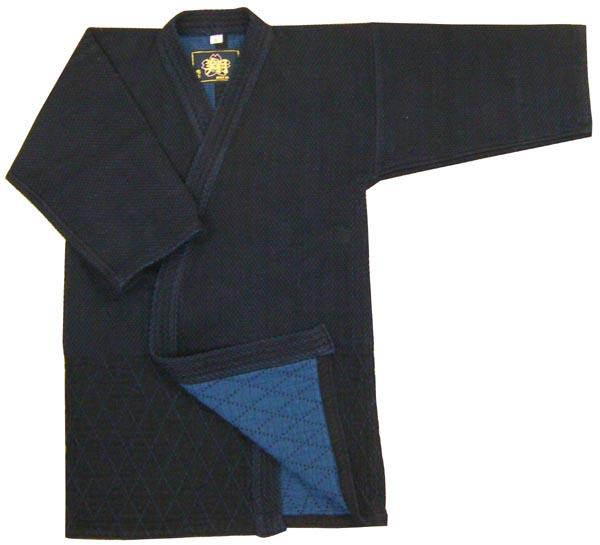 剣道 剣道着 最高級!!バイオ正藍染剣道衣 翔 背継 4号 4L号
