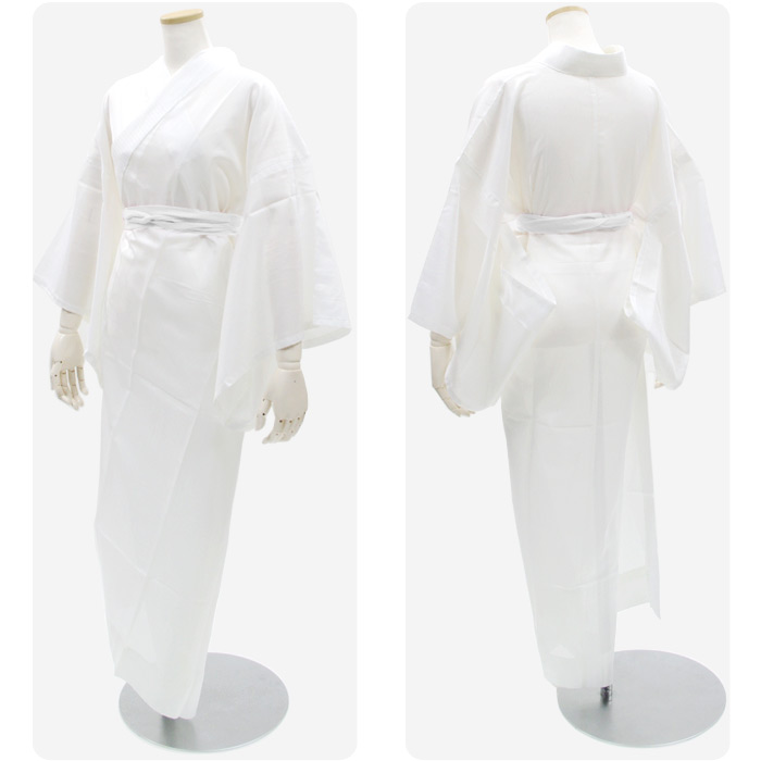 The women's Leno juban] s belt get 1 free! » * or 1 point up to 300 yen / shipping! * ■ industry lowest declared ■ new tailoring up washable white Leno nagajuban S/M/L/LL