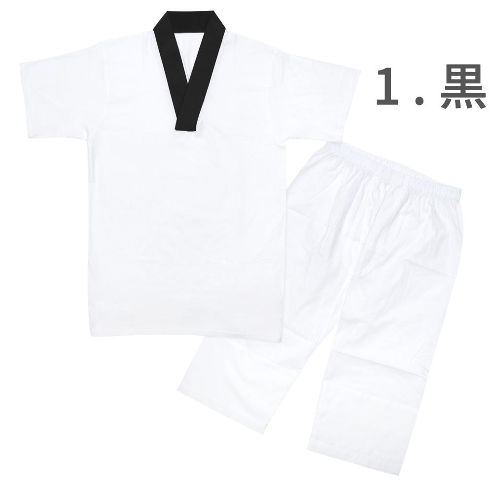 (Tシャツ+ステテコ) Tシャツ半襦袢 ステテコ セット (Tシャツ半襦袢/ステテコ) メンズ 5colors 襦袢 Tシャツ 日本製 男性 和装下着 着物 浴衣 M/L/LL