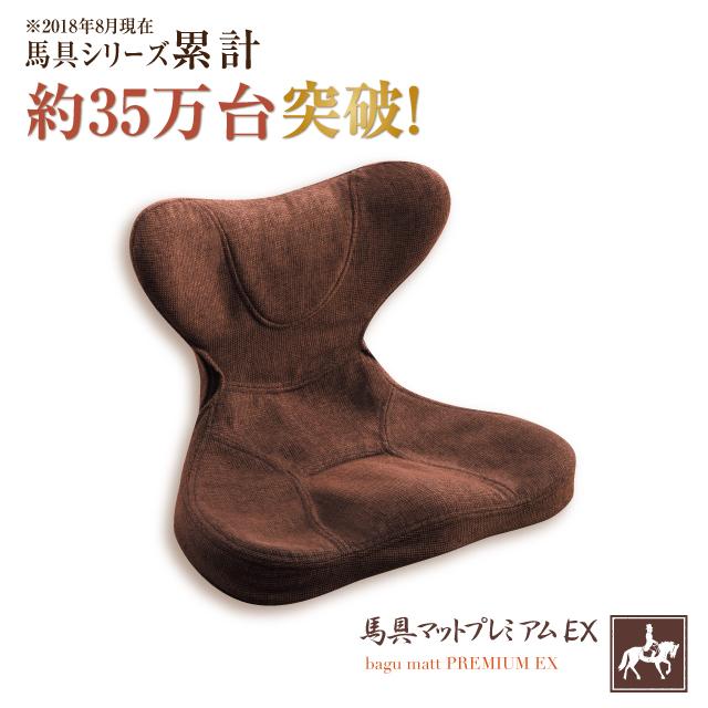 馬具マット プレミアムEX [腰痛 クッション 座椅子 椅子 安定 固定 フィット 骨盤 健康グッズ 疲労 リラックス ストレッチ ポイント10倍]