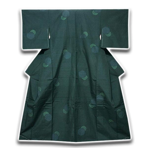 「仕立て上がり 高級呉服店買取」 結城紬風 オシャレ 正絹 紬