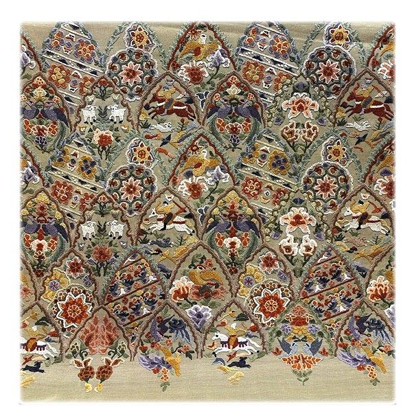 【訳あり】「絶品-柄全てが相良刺繍」 ふんだんに施された 贅沢の極み リバーシブル 太鼓柄 希少な 正絹 袋帯 丸帯