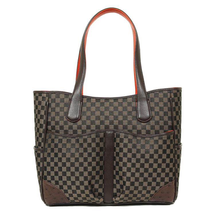 ホースヘアーバッグ 6840【オーストリッチバッグ/鞄/かばん/ハンドバッグ ブラウン トートバッグ】母の日 ギフト