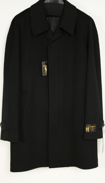 カシミヤコート メンズ SS~3L ラグラン袖 比翼タイプカシミヤ 100% フォーマル コート 黒 冠婚葬祭コート 喪服 コート/小さいサイズ 大きいサイズ 紳士(SS・S・M・L・LL・3L) 501【送料無料】