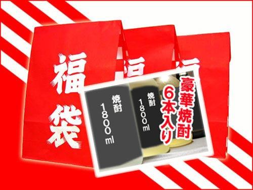【送料無料】超満足焼酎福袋 / 一升瓶 1800ml×6本【ギフト 焼酎】