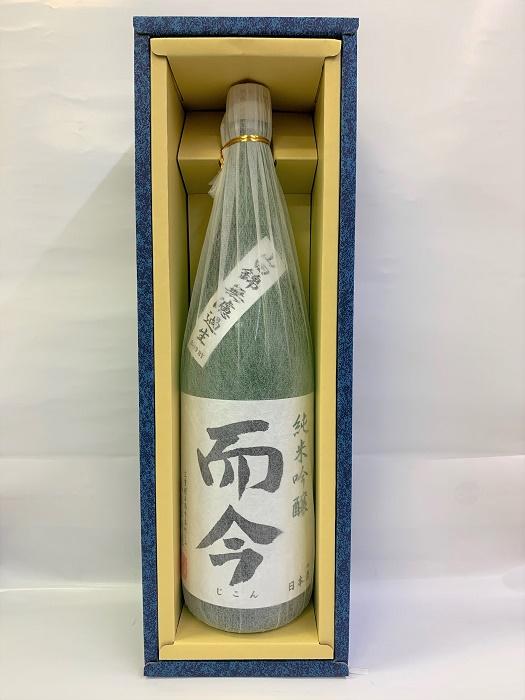 【ギフト箱入り】而今 純米吟醸 山田錦無濾過生 16度 1800ml 木屋正酒造