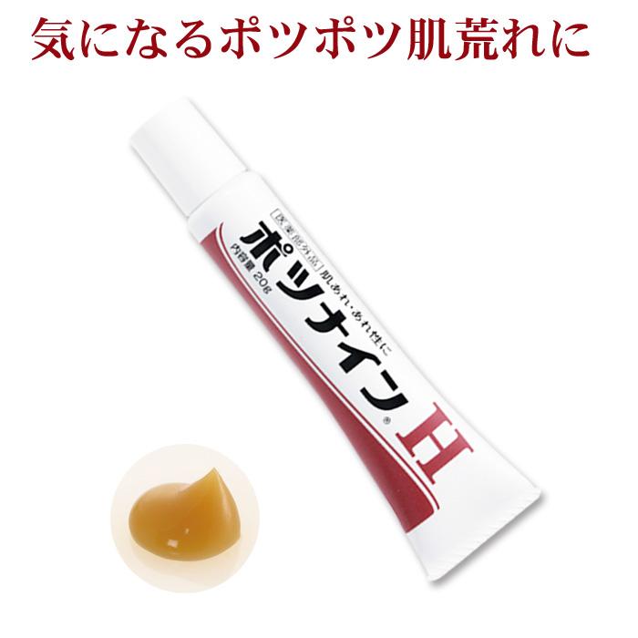 楽天市場】【メール便配達可能】ポツナインH 20g(医薬部外品 無香料 ...