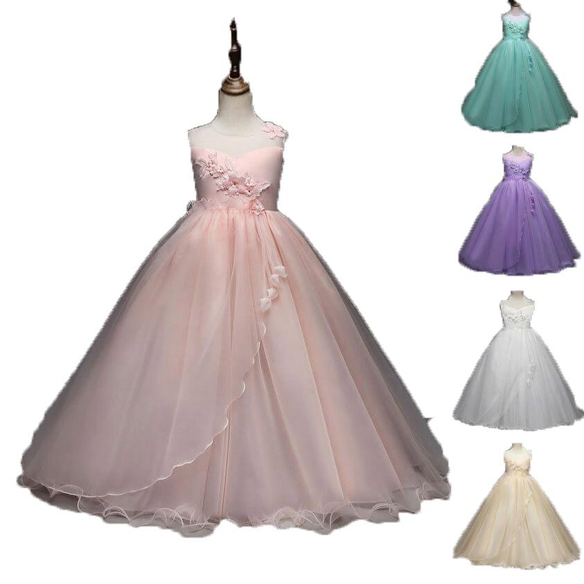好評 ドレス子供服 ドレス 子供 120 140 100 ロング ピアノ発表会 チュール ワンピース 子どもドレス ジュニアドレス 豊富な品 120cm-170cm グリーン ピンク シャンペン 七五三 フォーマル 白 子供ドレス 紫