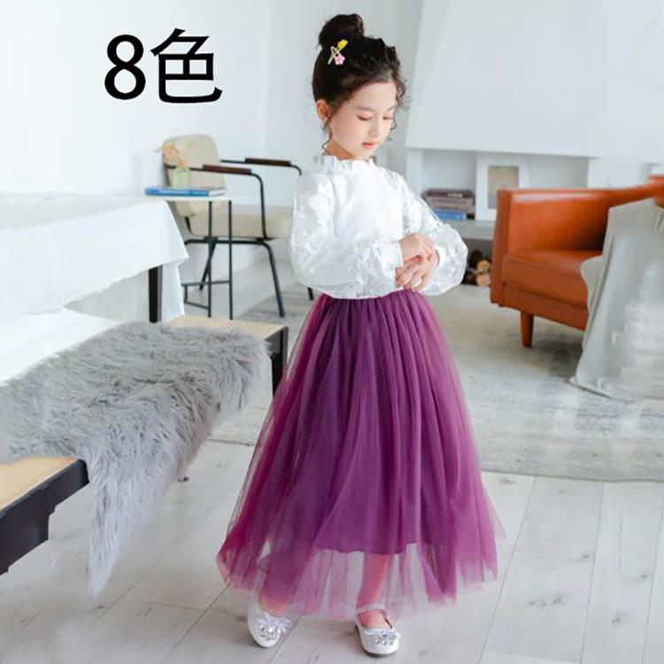 子供バルーンスカート チュチュ 捧呈 子供服 姫 レイヤードスカート 韓国子供服 子ども チュールスカート 再入荷 予約販売 女児 100-160cm チュチュスカート 全8色 キッズ