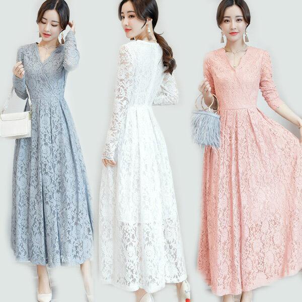 春 ドレス