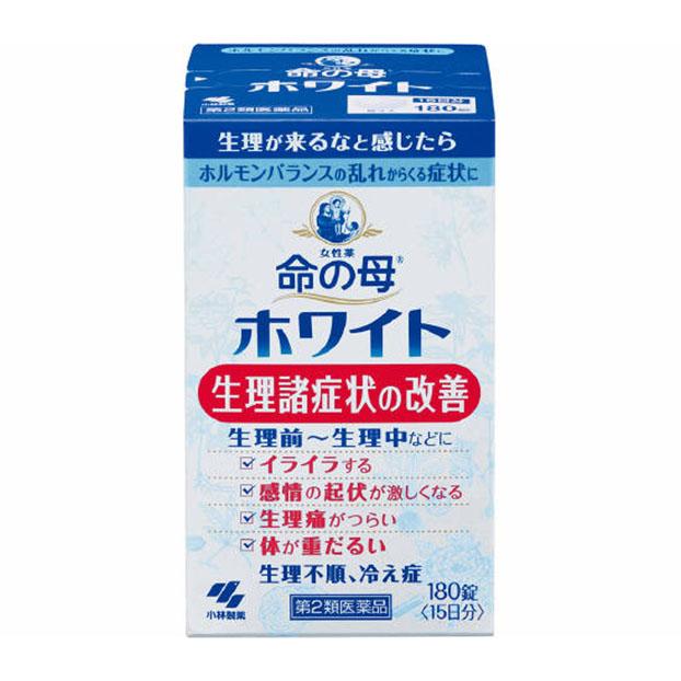 ホルモンバランスの乱れからくる症状に 第2類医薬品 180錠入 ついに再販開始 命の母ホワイト 贈与