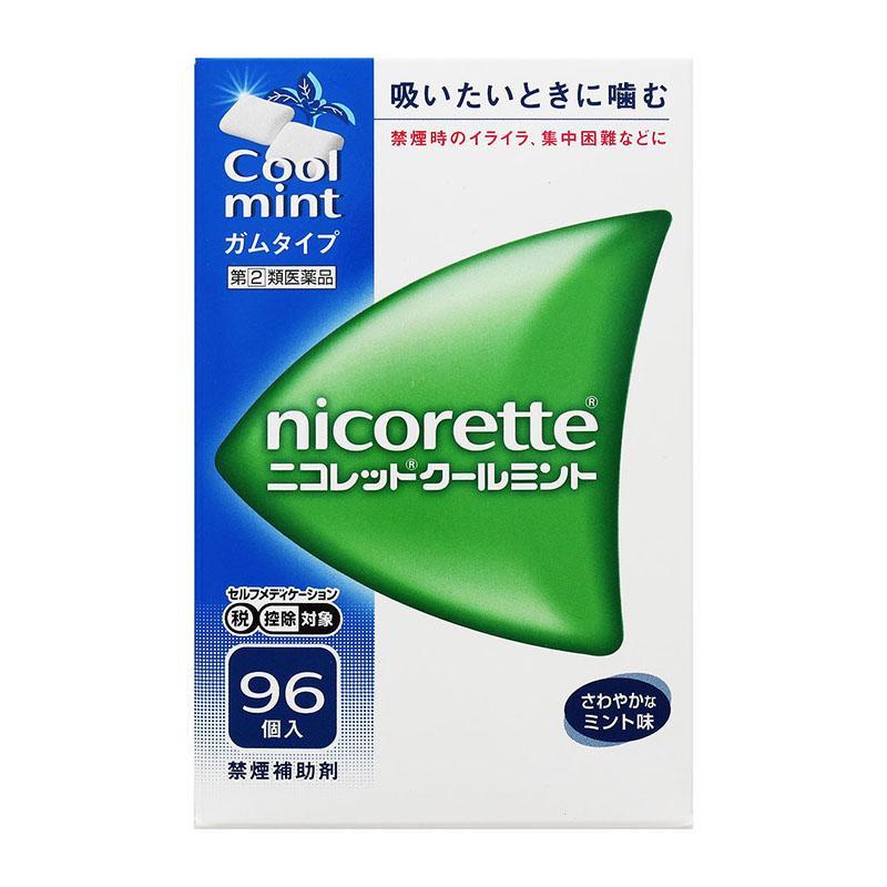 【指定第2類医薬品】 ニコレット クールミント 96コ入