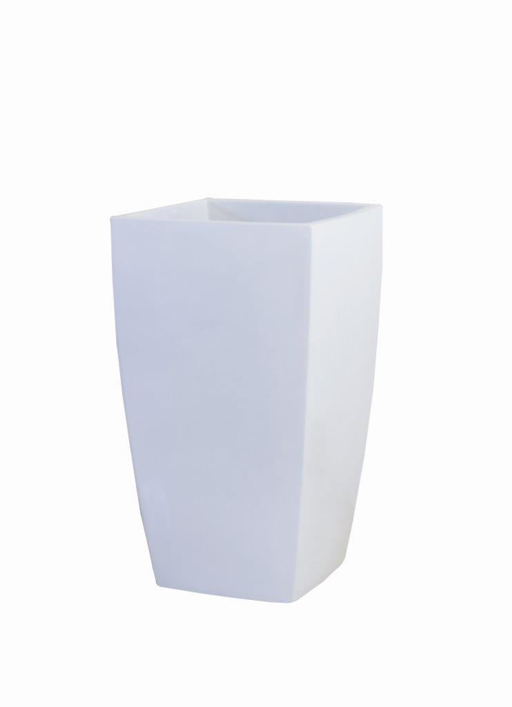 アーバンポット AL型 ALー42 プランター おしゃれ カラー (A)ホワイト (B)メタリックグレー サイズ タテ42cm ヨコ42cm 高さ70cm 容量 90リットル 対応鉢サイズ 8~10号鉢 送料¥880:本州・四国・九州地区限定 2個まで同梱可能