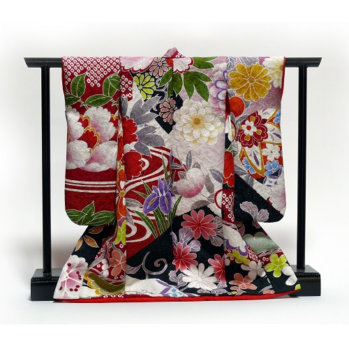 ミニチュア着物を作って飾ってみませんか 1 5製作キット 衣桁セット 選択 超歓迎された 型紙