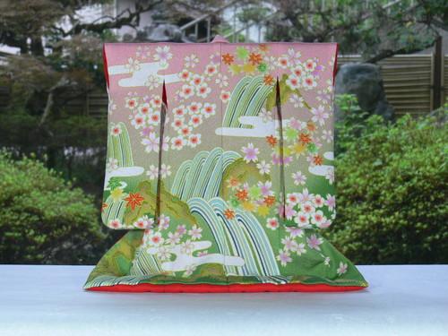 あい工房オリジナル商品小さなミニチュア着物キット豊かな彩りがおりなす日本の伝統衣裳 お得 着物 作って飾って日本の文化を身近に楽しんでみませんか 送料無料 ミニチュア着物キット 5山水 衣桁なし 人気海外一番 5 1