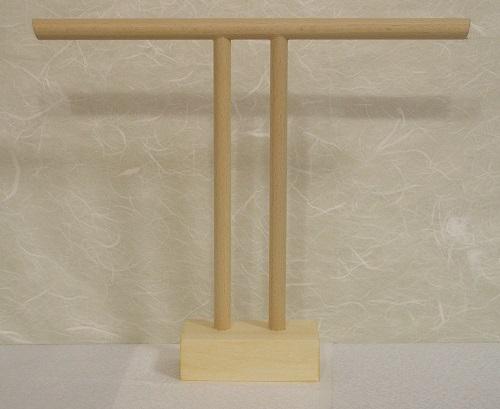 小ロット手作り衣桁 いこう 製造販売 新作販売 1 H20.5cmW24.8cm 新作製品、世界最高品質人気! ミニチュア着物用ミニ衣桁 7ミニT字衣桁