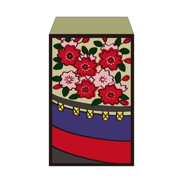 花札 桜に幕 ポチ袋 お求めやすく価格改定 中 おしゃれでかわいい多目的祝儀袋 5枚セット 早割クーポン お年玉袋 ぽち袋
