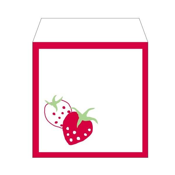 ストロベリー 苺 新作通販 イチゴ コイン用ポチ袋 販売期間 限定のお得なタイムセール 小 お年玉袋 おしゃれでかわいい多目的祝儀袋 ぽち袋 5枚セット
