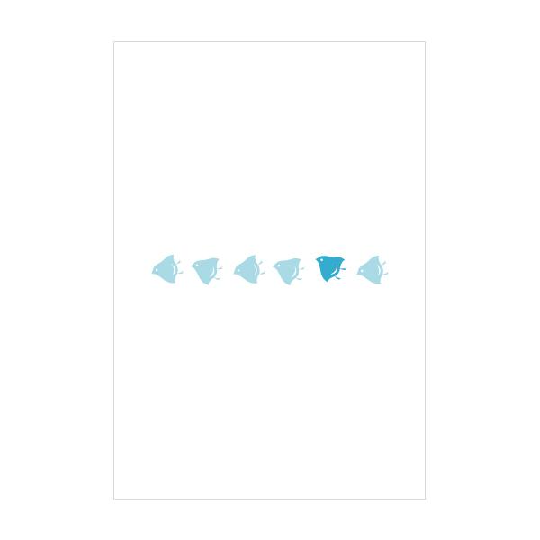 千鳥 ポストカード お値打ち価格で NEW売り切れる前に☆ 3枚セット おしゃれでかわいい京都かみんぐ限定ポストカードアート