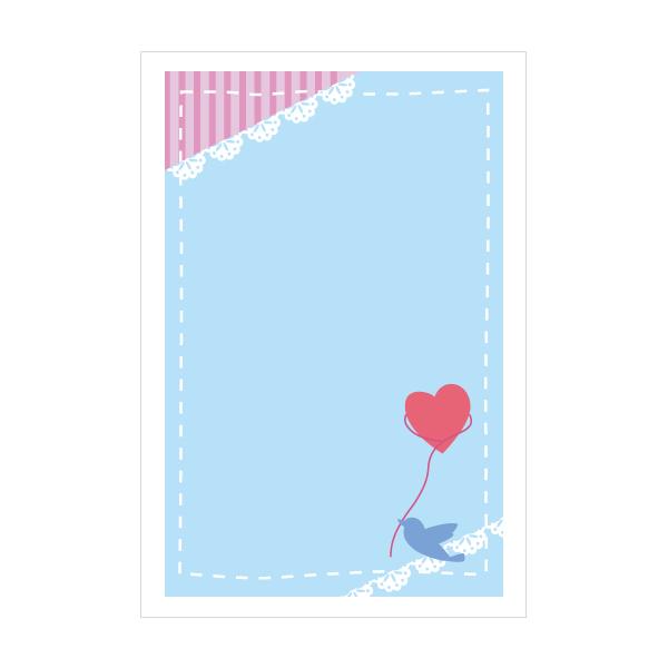 ラブリーバード ポストカード 最安値に挑戦 3枚セット SALENEW大人気 おしゃれでかわいい京都かみんぐ限定ポストカードアート