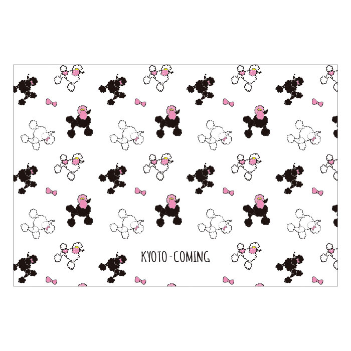 プードル(犬)【ロゴ・名入れ可】業務用ペーパーランチョンマット使い捨て敷紙 1000枚