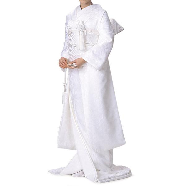 【掛下】白 サヤ型【結婚式 婚礼 和装ウエディング】【送料無料】