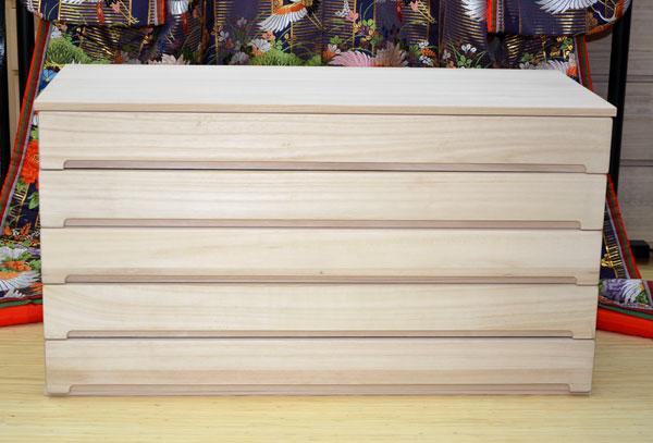桐たんす 着物収納 浅引き 5段 桐重ねる スタッキング チェスト 桐箪笥 クローゼット用 100cm幅引出し 箱組 肥前桐民芸 国産品 桐タンス 桐ダンス 桐箪笥 【関東~九州送料無料】 【国産】 【日本製】 【smtb-k】 【ky】 【家具】【05P01Oct16】