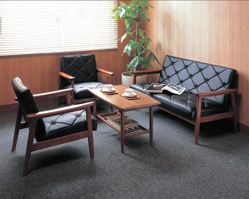 KARIMOKU~カリモク~合皮革張椅子4点セット【送料無料】【smtb-k】 【家具】【京都-市やま家具】