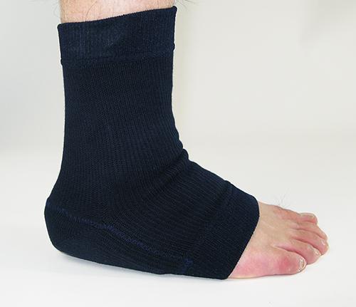 Heel sponge thickness 5 mm
