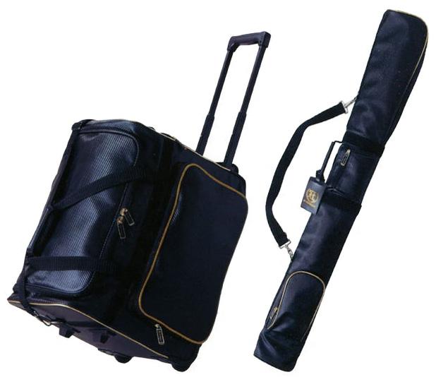 防具袋 竹刀袋セット 冠ウイニングバッグ + 冠ウイニング竹刀ケース【キャリー防具袋・肩掛け竹刀袋】