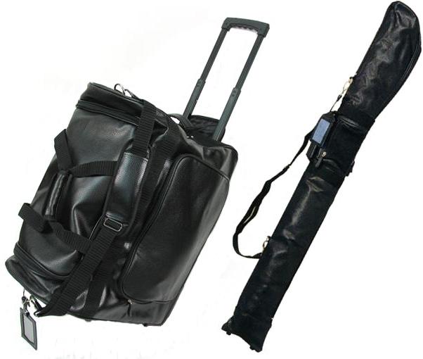 【4/9まで!お買上キャンペーン中】PVC遠征用キャリーバッグ + PVC竹刀ケース【剣道具・防具袋・竹刀袋】
