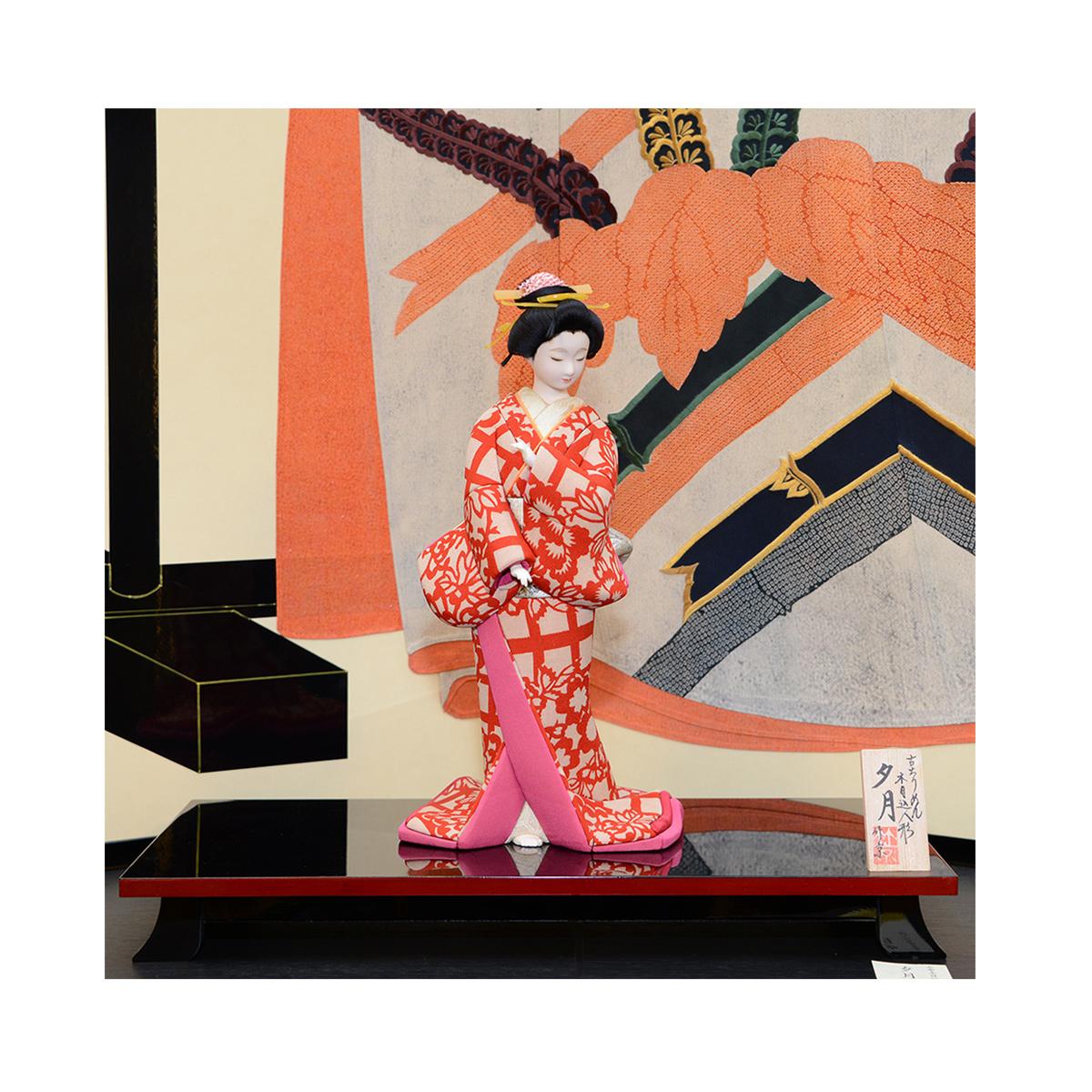 夕月 木目込み人形 京都くろちく和雑貨 木目込人形 買い取り 楽ギフ_のし 毎日続々入荷