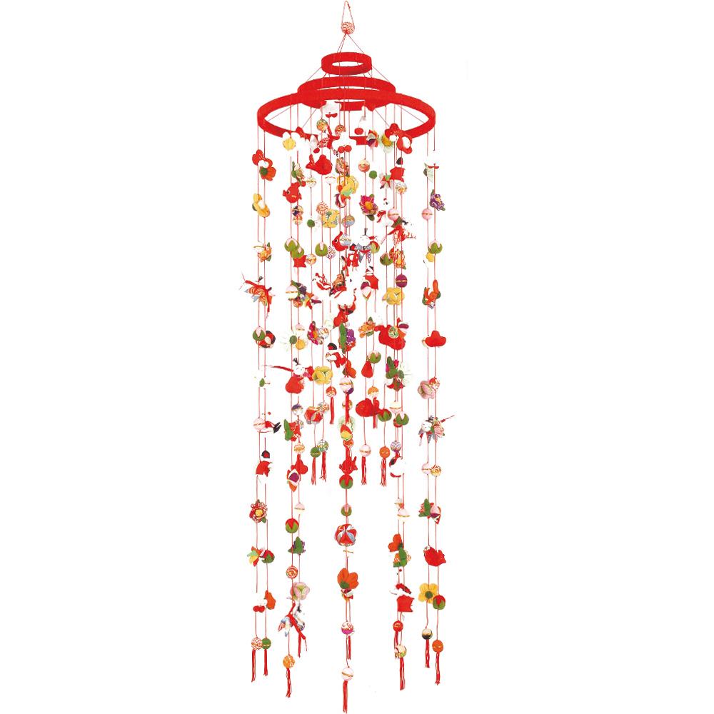 梅三重 飾り 下げ飾り 吊るし飾り スーパーセール 楽ギフ_のし 至上 京都くろちく和雑貨