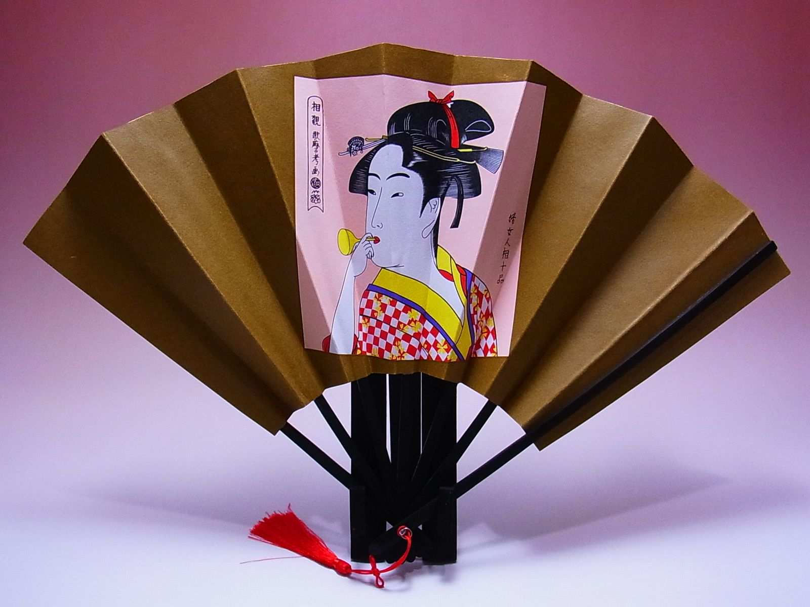 日本のおみやげ メーカー公式ショップ ホームステイのお土産 評判 海外の友人へのプレゼント 外国人へのギフト 海外出張の手土産 外国人が喜ぶ日本土産 浮世絵飾り扇子セット 数量限定販売絵柄は全部で7種類あります 訳あり大特価 ビードロ