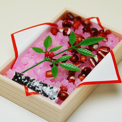 Congratulations confetti (plum) and Red 10P17aug13