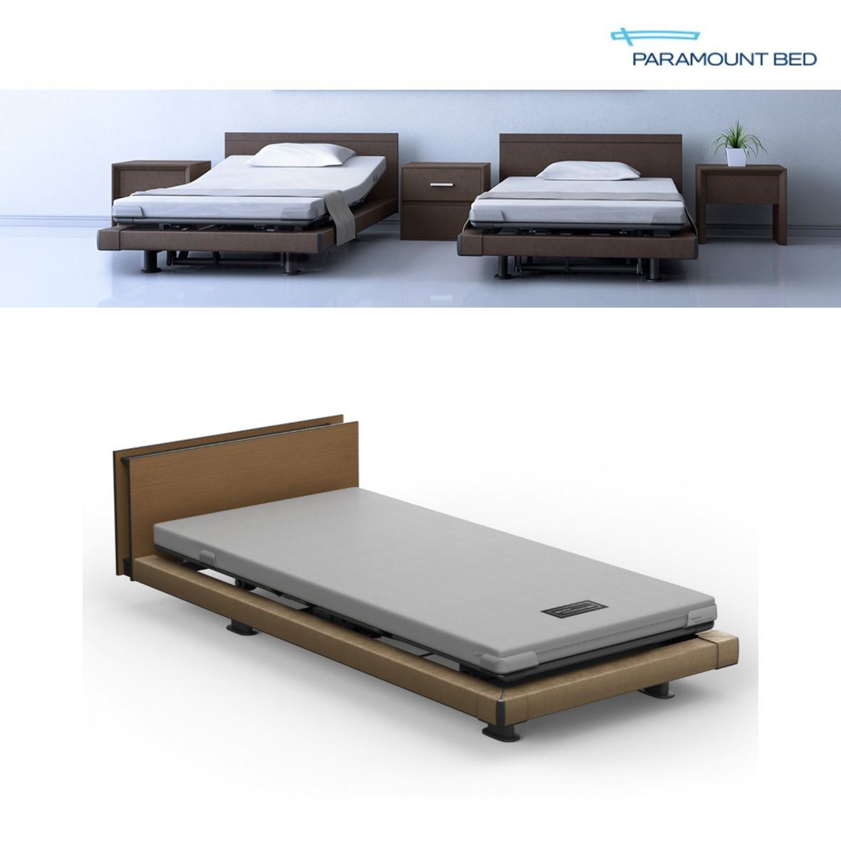 INTIME1000 ハリウッドスタイル ラウンドタイプ 1+1モーター電動ベッド機能:リクライニング・フットレスト・らくらくモーション