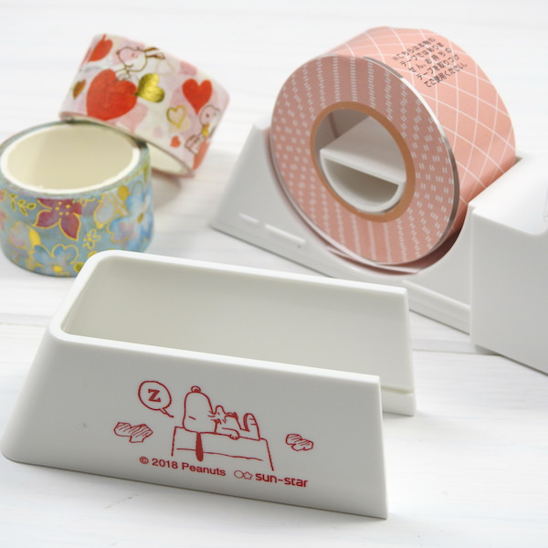 Peanuts【ピーナッツ】・Snoopy【スヌーピー】キッチンやオフィスで使える強力マグネット付きテープカッターLaCut【ラカット】・スヌーピー
